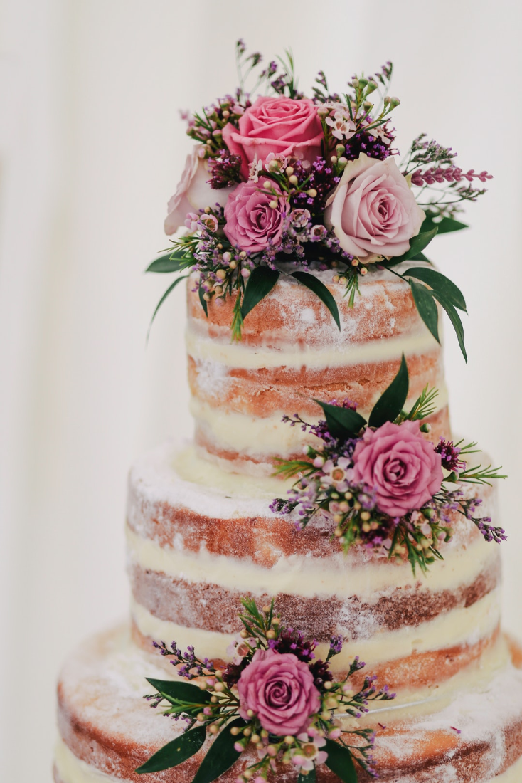 Hochzeitstorte Naked Cake Beliebter Hochstgenuss Weddyplace Magazin