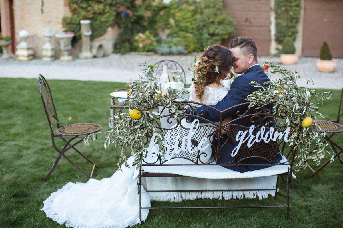 Hochzeitspaar genießt die Zweisamkeit nach der Trauung