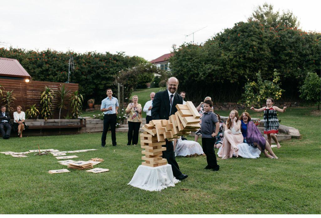 Hochzeitsspiele im Hochzeitsprogramm