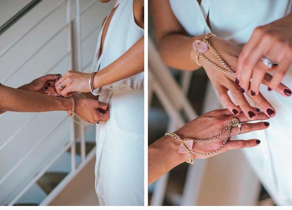 Brautjungfern-Geschenk-Armband