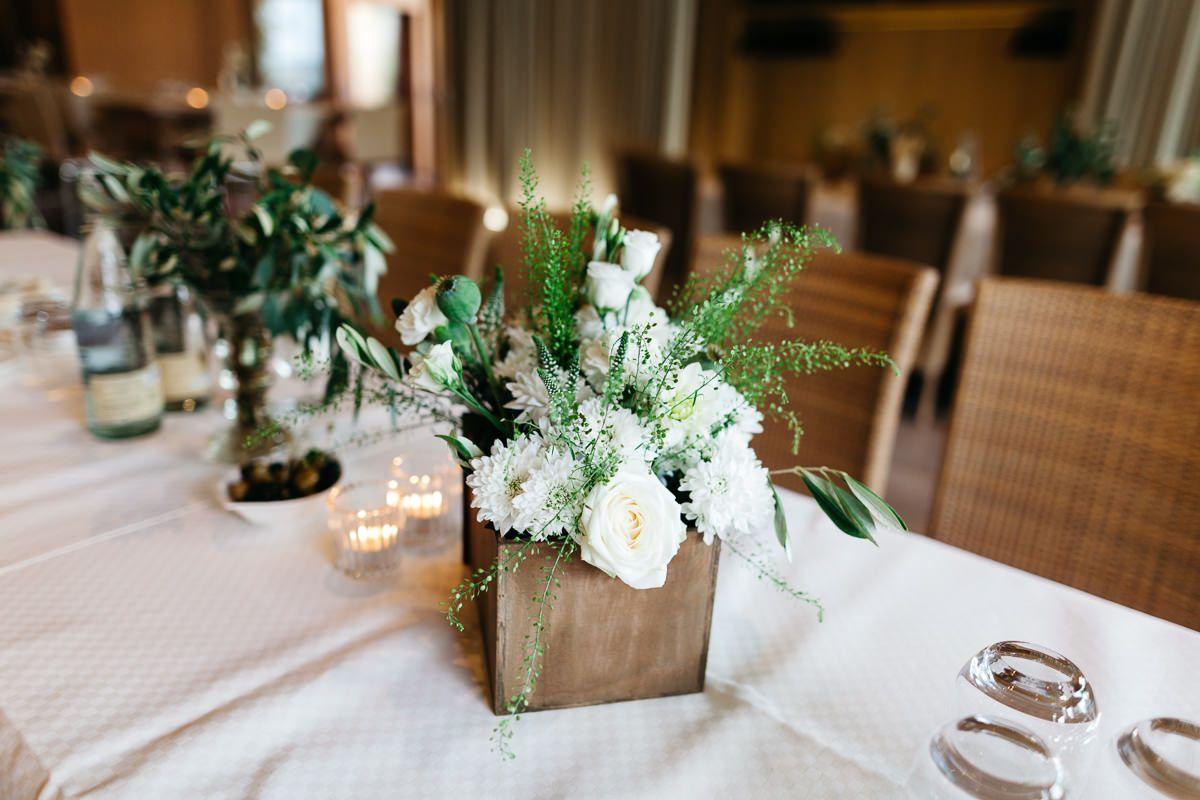Low Budget Blumendeko Hochzeit