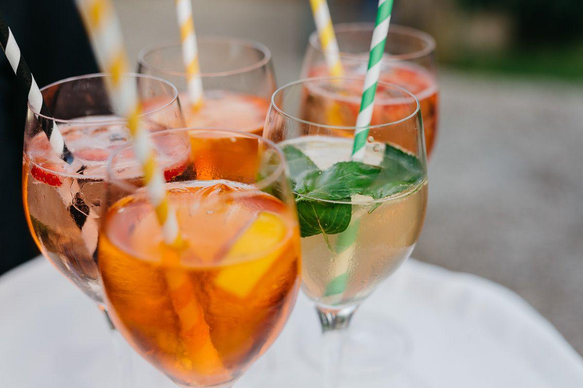 Drinks für die Hochzeit